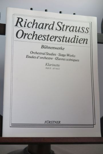 Strauss R - Orchestral Studies Clarinet Stage Works Vol 2